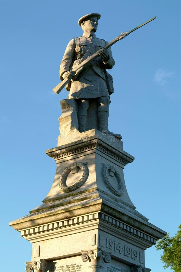 kirriemuir纪念苏格兰战争 免版税库存照片