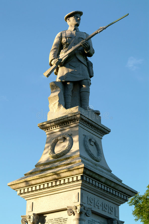 kirriemuir szkocka pamiątkowa wojny zdjęcia royalty free