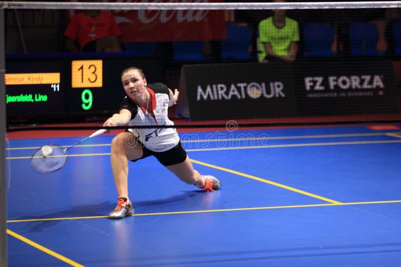 Kirsty Gilmour - Badminton stockfoto