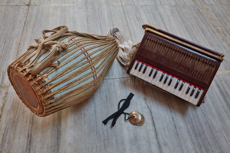 Kirtan instrumenty obrazy royalty free