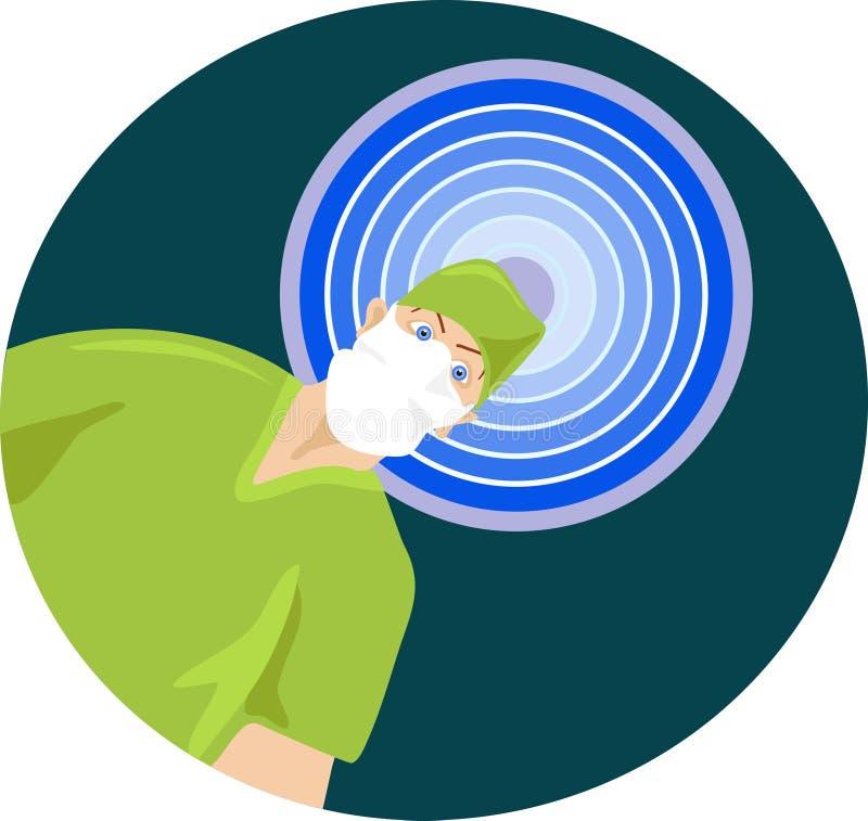Download Kirurg vektor illustrationer. Bild av läkarundersökning - 49569