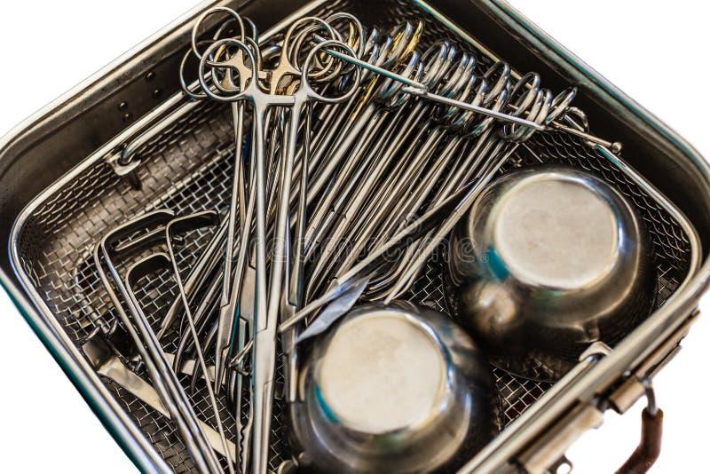 Kirurgisk utrustning royaltyfri bild