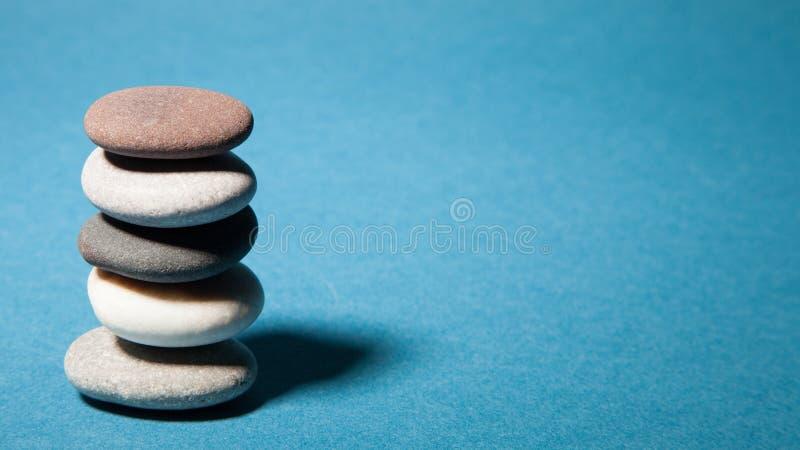 Kiselsten-stenar arkivfoto