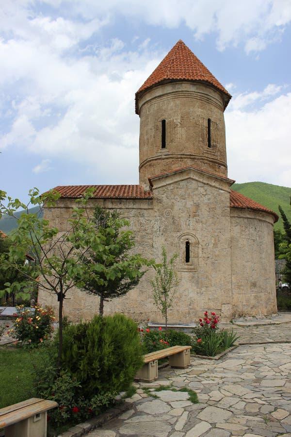Kish kościół, Shaki, Azerbejdżan fotografia stock