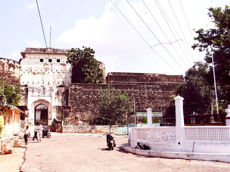 Kishangarh堡垒 免版税库存图片