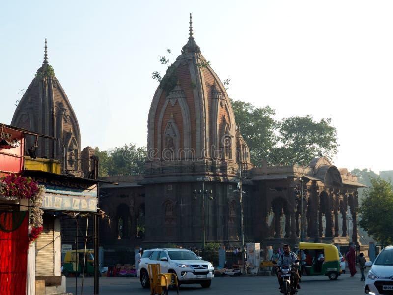 Kishanpura Chhatri perto de Rajbada fotos de stock royalty free