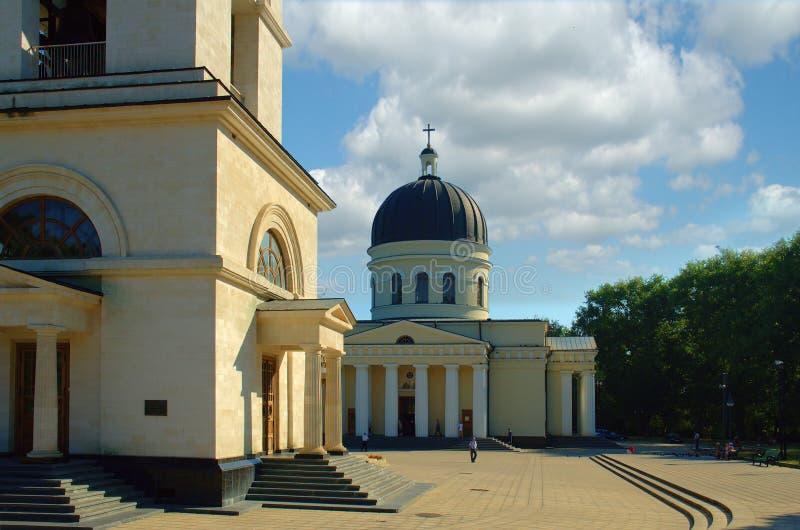 Kishinev, centro da cidade fotografia de stock