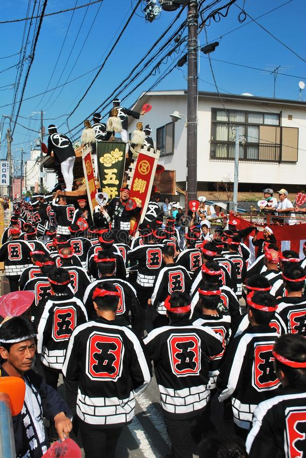 Kishiwada Danjiri festival royalty free stock photo