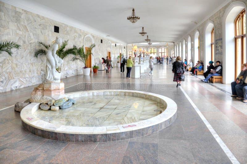 Kislovodsk Galería de Narzan foto de archivo libre de regalías