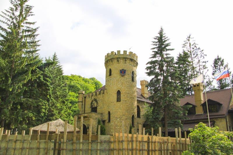 Kislovodsk. Mountain castle stock image