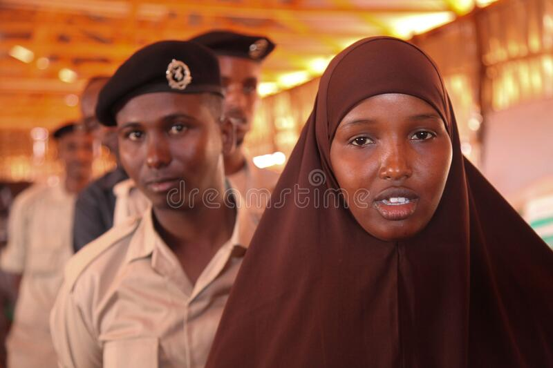 2016_12_21_Kismayo_New_Police_Recruits-6 stock photos
