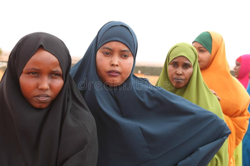2016_12_21_Kismayo_New_Police_Recruits-4 stock photo