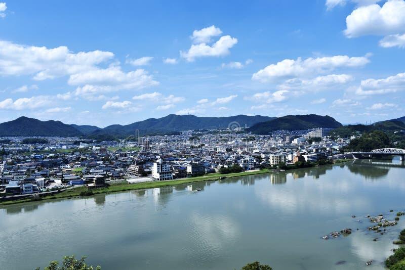 Kiso River stock image