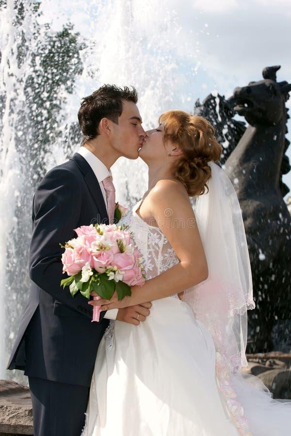 Kiss stock photography