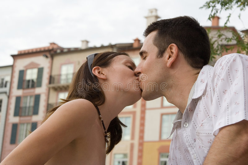 Download Kiss stock image. Image of happiness, italy, young, valentines - 1411909