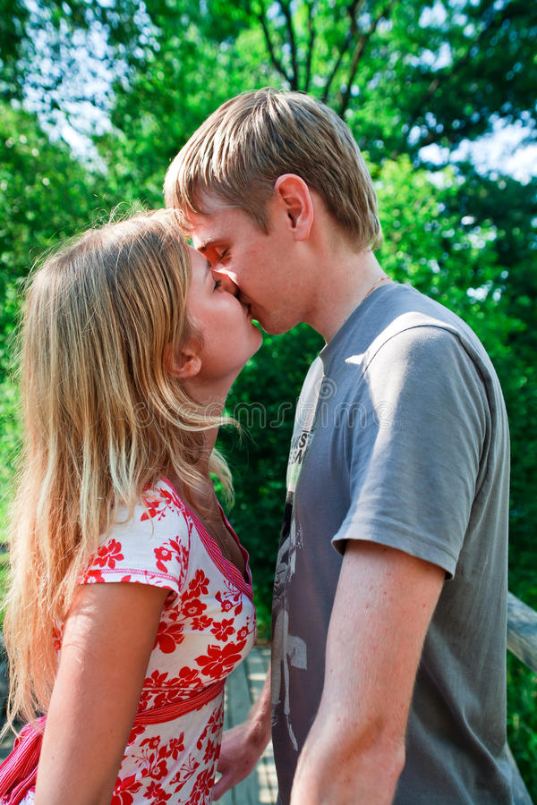 Download Kiss stock image. Image of life, close, couple, innocent - 16068365