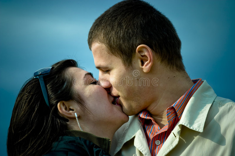 Download Kiss stock image. Image of kiss, love, male, affectionate - 1932967