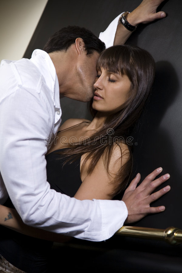 Download Kiss stock photo. Image of female, exciting, cherish, couple - 2324910