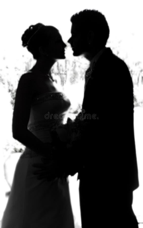 The Kiss royalty free stock photos
