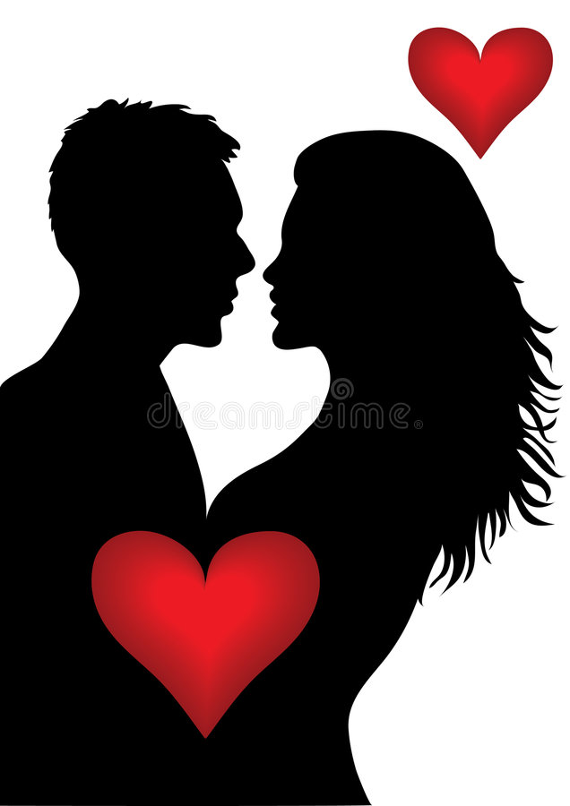 Kiss vector illustration