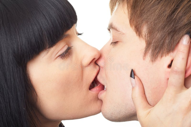 Download Kiss. Happy Loving Couple. Stock Photography - Image: 6876552