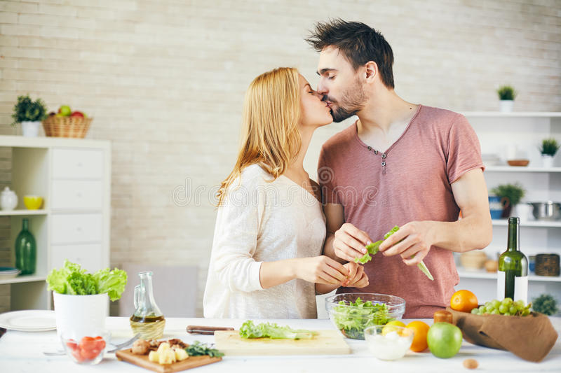 Kissing In The Kitchen