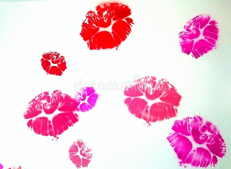 Kiss and love royalty free stock photo