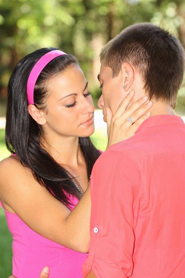 Kiss Royalty Free Stock Photos