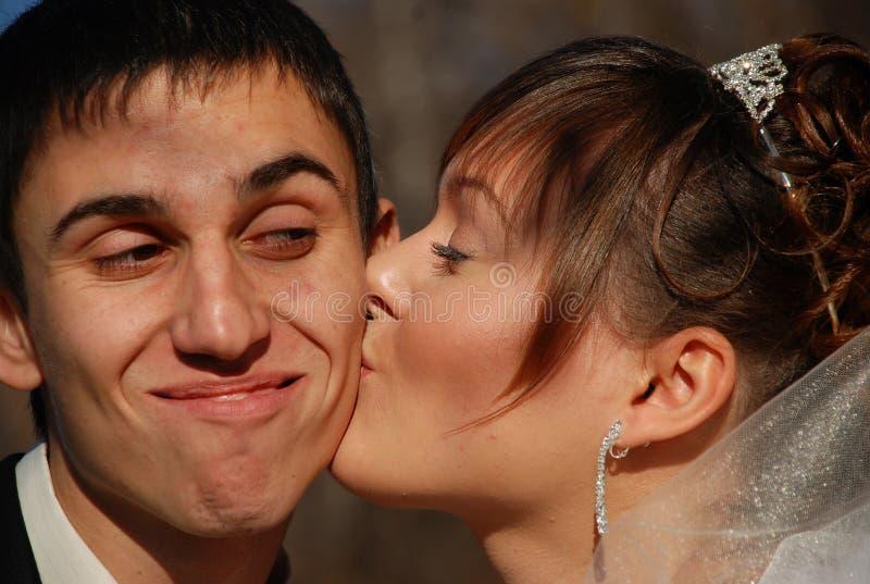 Kiss2 royalty-vrije stock foto