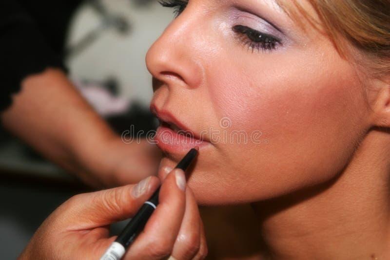 Kissable Lippen lizenzfreies stockfoto