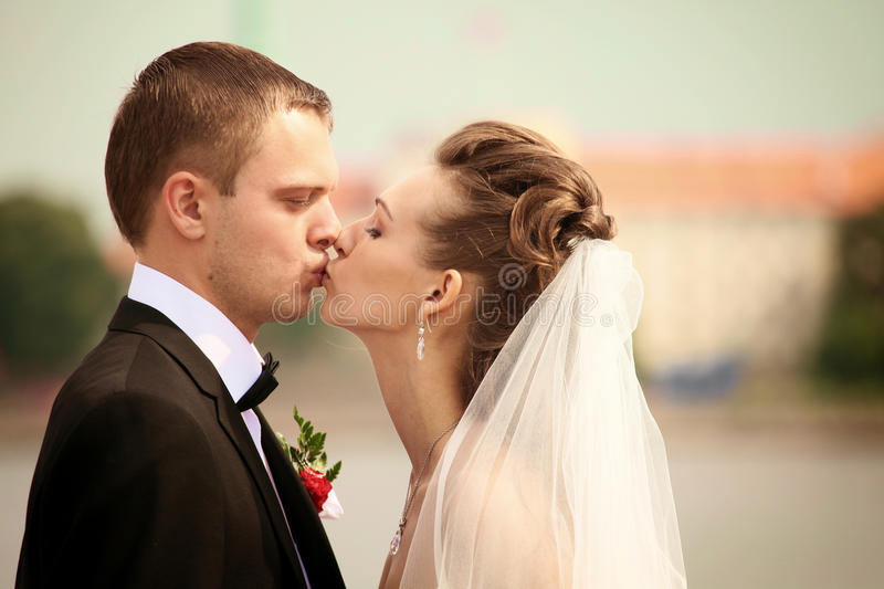 Download Kissing stock photo. Image of outdoor, matrimony, content - 22114240