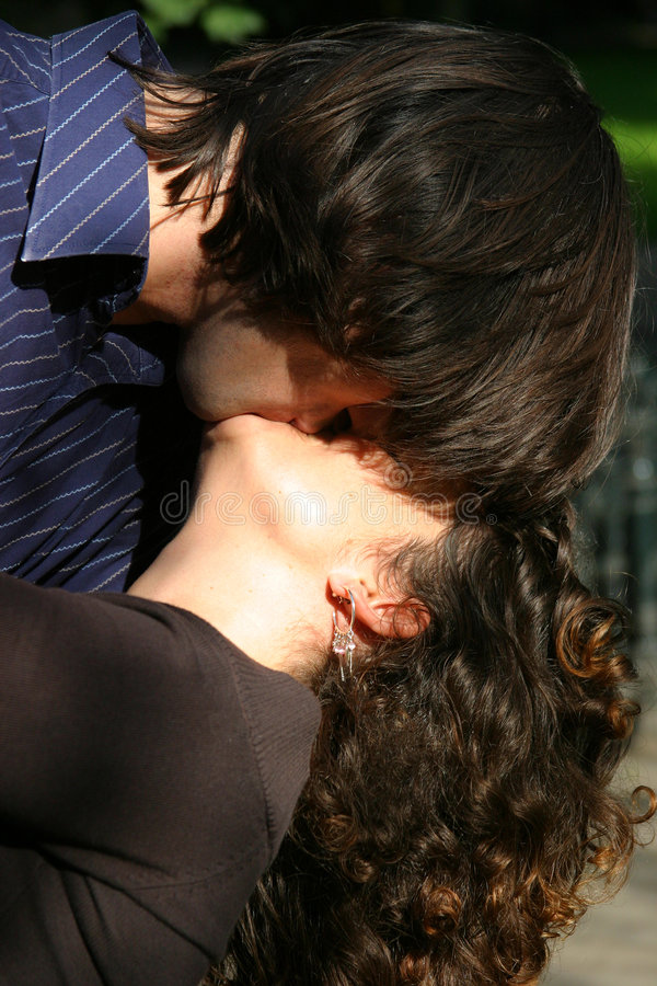 Download Kissing Couple Royalty Free Stock Photography - Image: 222127