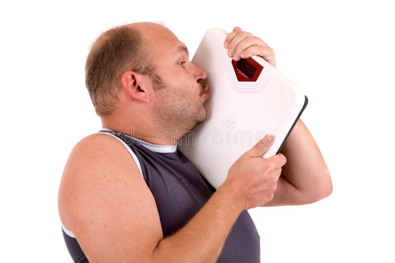 Download Kissing the scale stock photo. Image of background, measuring - 3312508