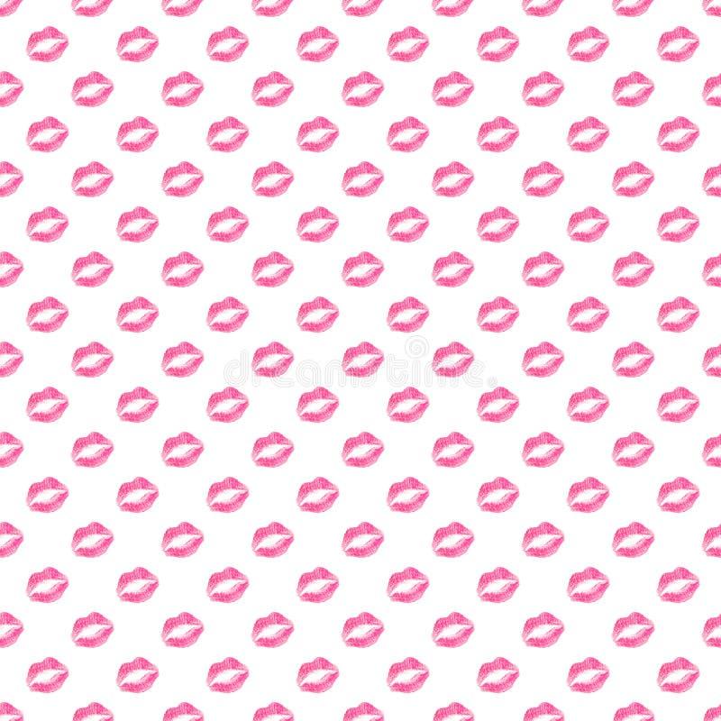 Kissy Lips Wallpaper photos libres de droits
