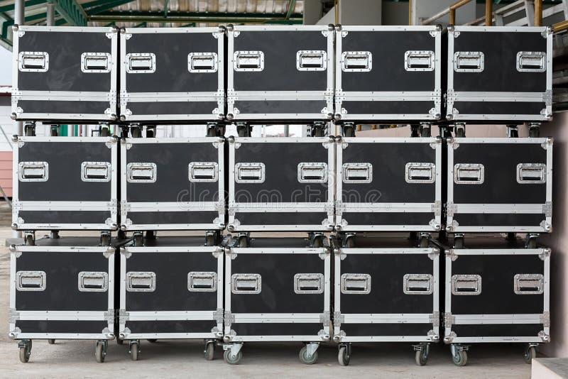 Kiste, Holz - Material, Fracht-Transport, Lagerhaus, Kasten - Behälter lizenzfreie stockbilder