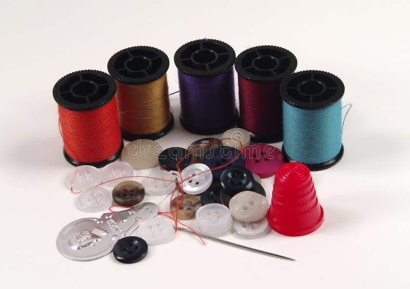 Kit de couture images stock