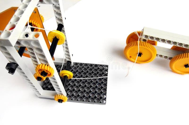 Kit de jeu de la science de physique d'enfants photographie stock libre de droits
