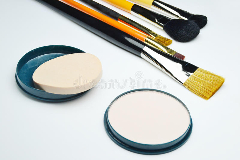 Kit de maquillage image libre de droits