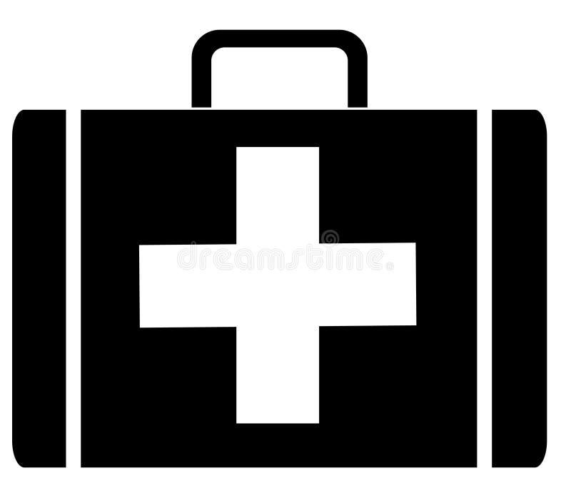 Kit De Primeros Auxilios Imagen de archivo