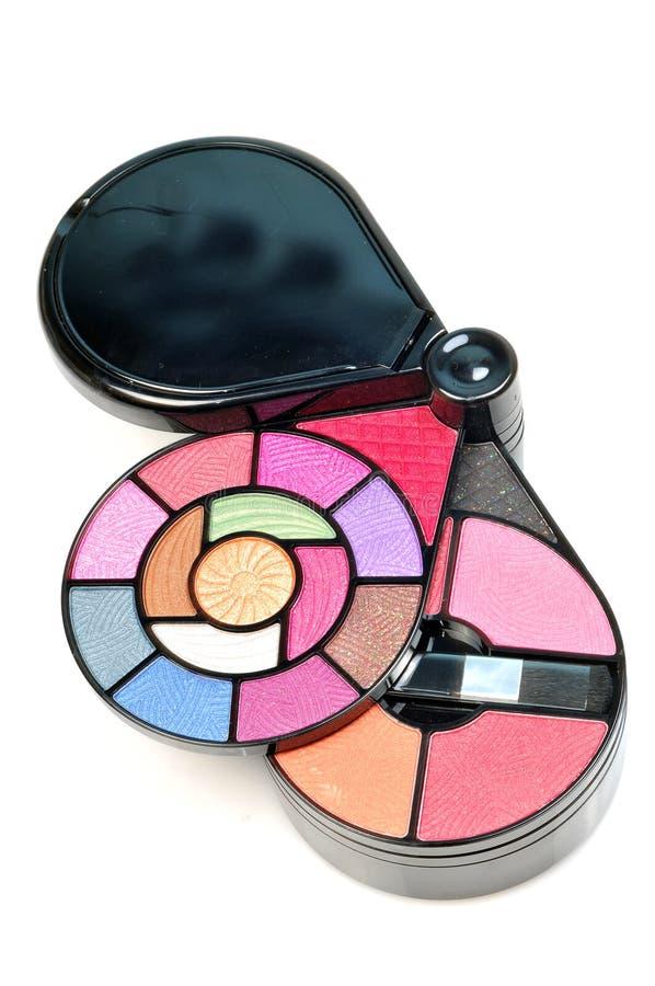 Kit del maquillaje fotografía de archivo