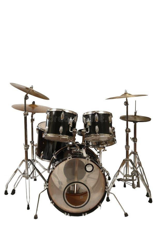 Kit del tambor foto de archivo