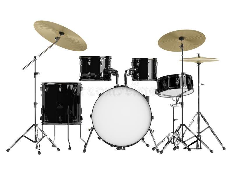 Kit del tamburo royalty illustrazione gratis