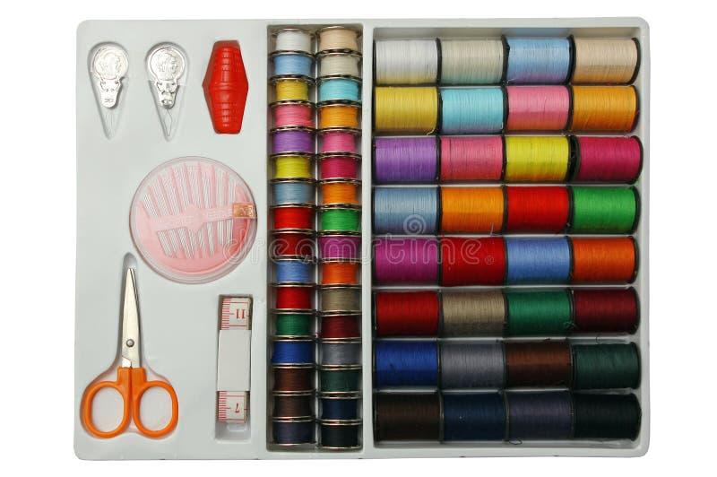 Kit di cucito. immagini stock libere da diritti