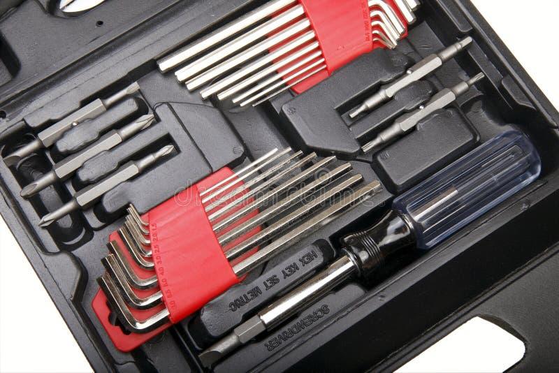Kit di strumento fotografia stock libera da diritti
