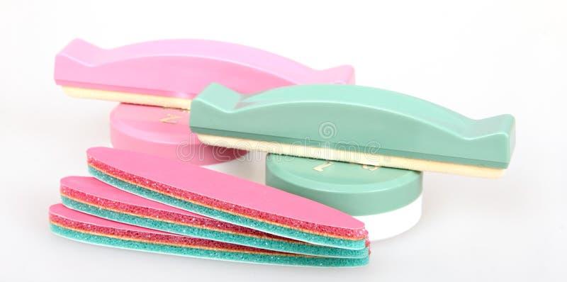 Kit giapponese del manicure fotografie stock