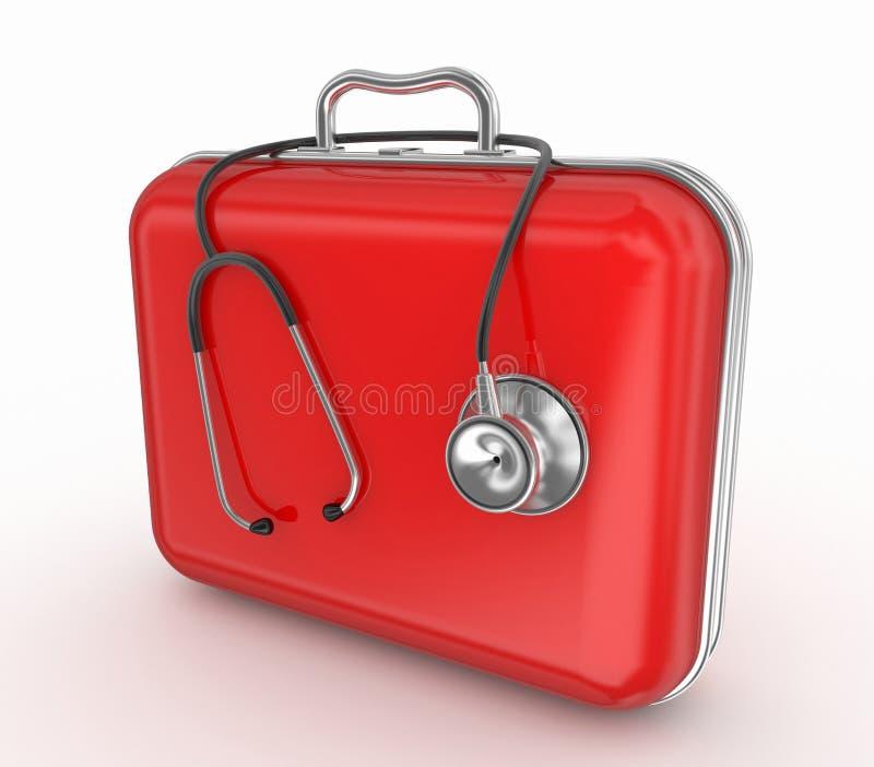 Kit medico illustrazione vettoriale