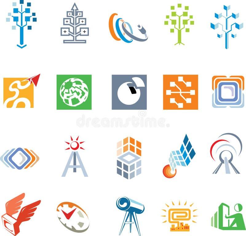 Kit per i logomakers immagini stock