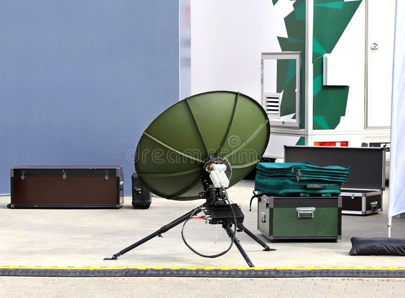 Download Kit Portatif Des Communications Militaires De Champ Photo stock - Image du programme, neuf: 77162482