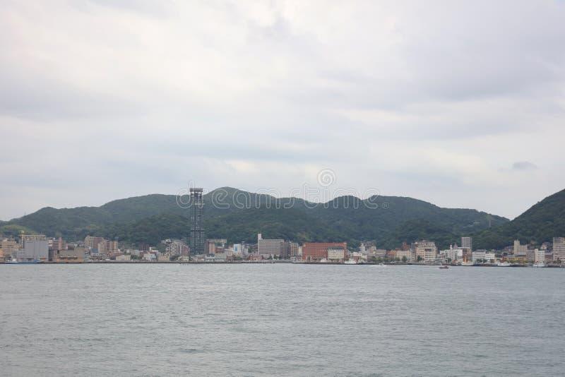 Kitakyushu, de Prefectuur van Fukuoka, Japan royalty-vrije stock afbeeldingen