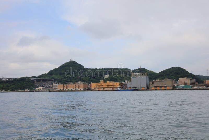 Kitakyushu, de Prefectuur van Fukuoka, Japan royalty-vrije stock foto